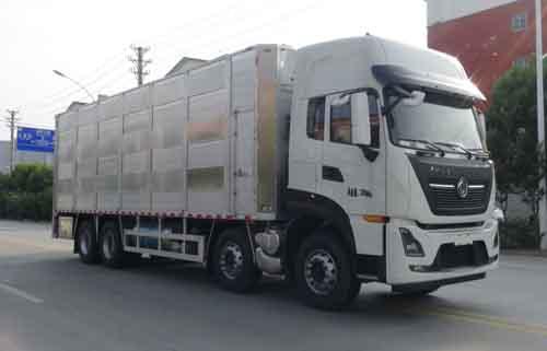 华通牌HCQ5311CCQDFH6CS型畜禽运输车