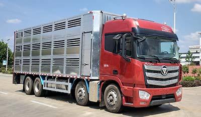 舜德牌SDS5310CCQB6型畜禽运输车