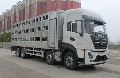 虹宇牌HYS5310CCQE6型畜禽运输车