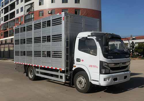 虹宇牌HYS5120CCQE6型畜禽运输车
